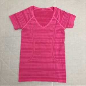 Lululemon 4 Run Swiftly Tech Short Sleeve Crew